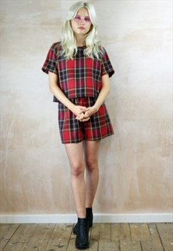 Red tartan Co-ordinates